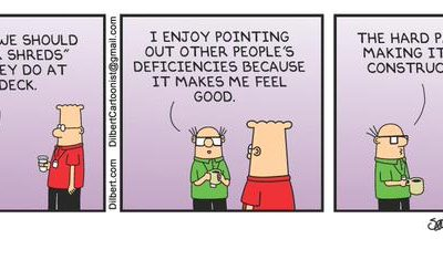Berkeley Skydeck Meets Dilbert