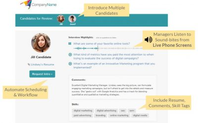How to Share Phone Interview Highlights with Hiring Teams
