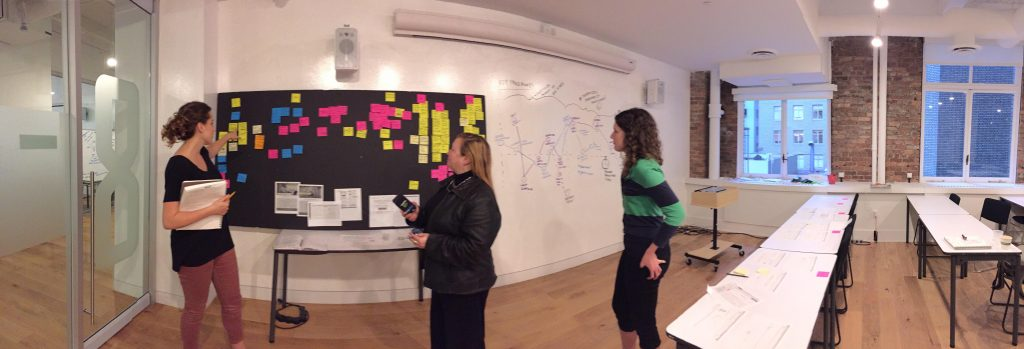 general assembly user experience brainstorming with honeit
